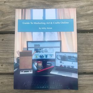 marketing art and crafts online book